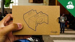 Google Cardboard At I/o 2015
