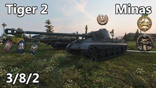 World of Tanks - Minas - Tiger 2 - Rebentando al personal - Gameplay Español
