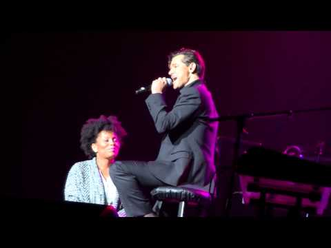 Time Will Reveal - El DeBarge Serenading a Lucky Lady at Chaifetz Arena - February 14, 2015