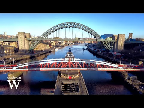[4K] Walking in England 🇬🇧 Best View in Newcastle   Ambient City Sounds