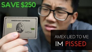 Gambar cover How I Got My $250 Annual Fee Waived | Limited Edition AMEX Rose Gold Metal