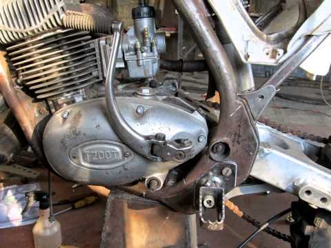 Кроссовый мотоцикл своими руками