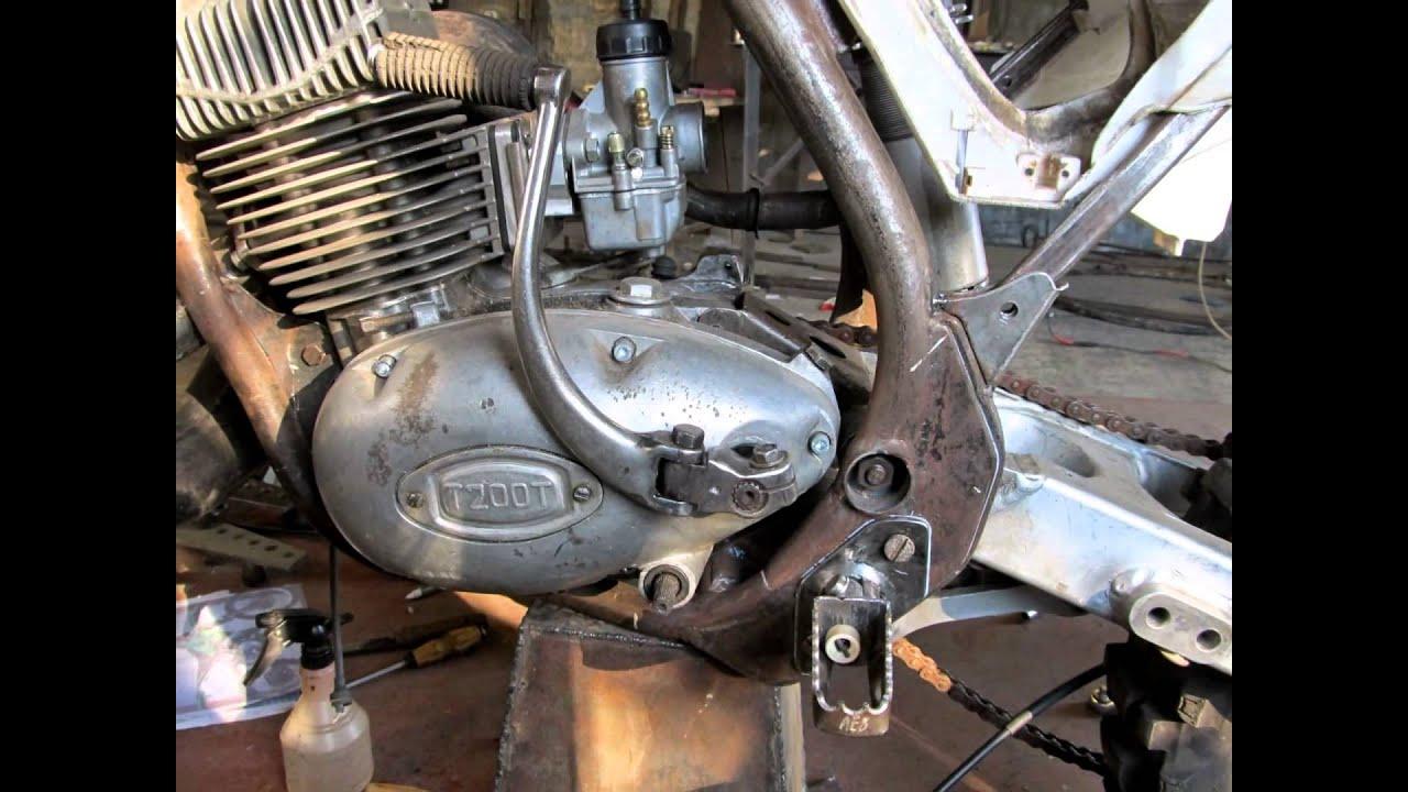 Мотора для мотоцикла своими руками 100