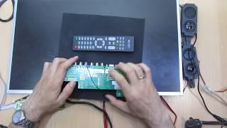 Универсальный скалер HK-TRT253AV07 с ядром Linux DLNA IPTV  DVB-C  Обзор