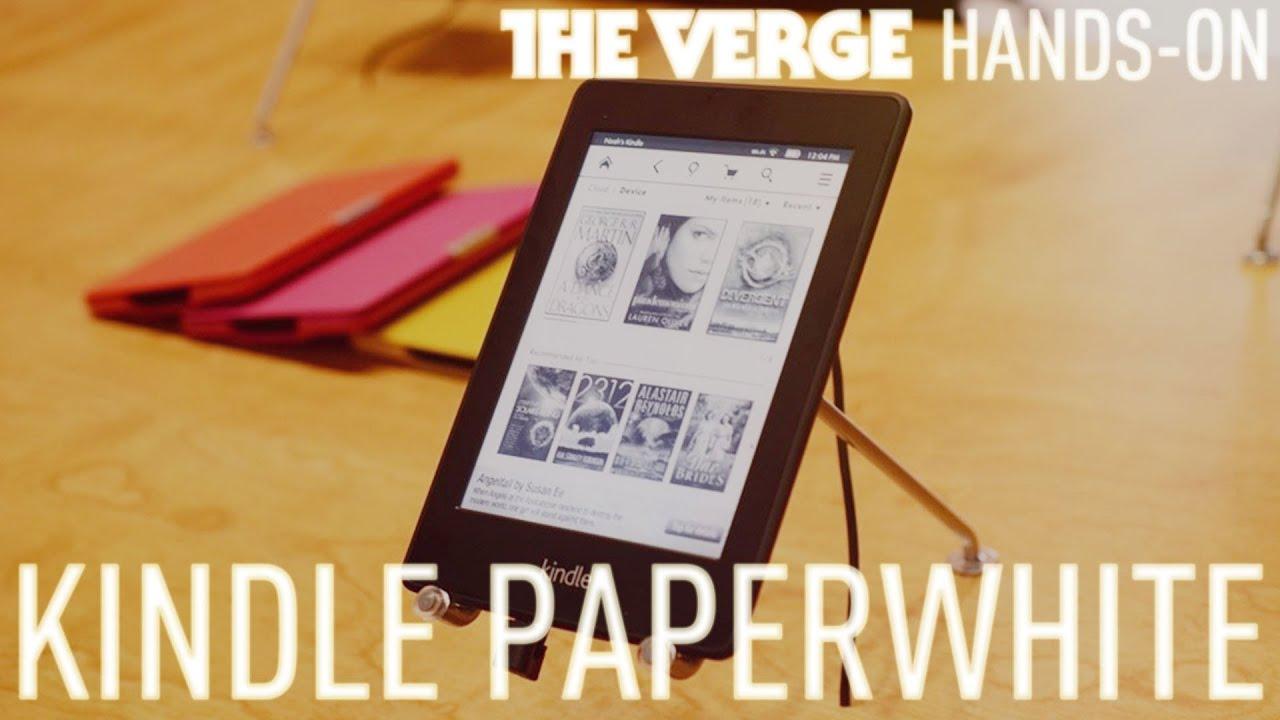 Kindle Paperwhite vs Kindle 5 « New Ebook Reader Reviews