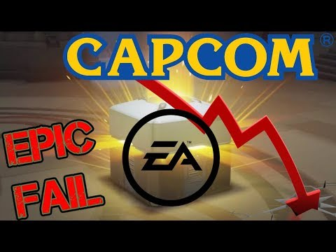 EA & Capcom In Big Trouble & The End Of Lootboxes?