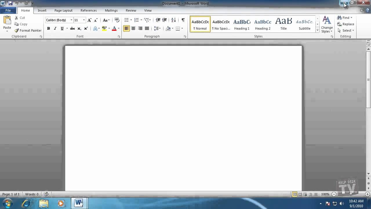 Saving Files In Microsoft Word 2010 - YouTube  Saving Files In...