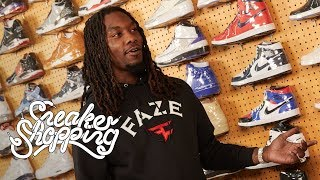 Offset Goes Sneaker Shopping With Complex