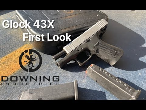 Glock 43X, First Look