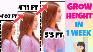 INCREASE HEIGHT With This Exercise & Stretch! Easy Stretch To Grow Taller You Must Do screenshot 1