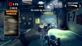 Dead Trigger 2 Crate Diggin Gameplay Coach Shotgun, Rocket Launcher & Katana No equipment used.