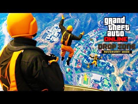 GTA 5 Drop Zone Adversary Mode Livestream - Goofing Around On GTA 5 Online