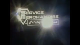 Service Merchandise Catalog Showrooms Commercial 1978