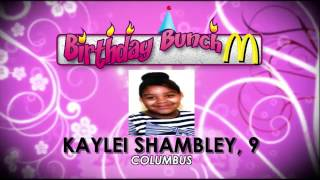 Birthday Bunch - 01-19-17