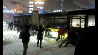 Снігова негода в Києві
