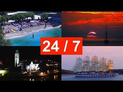 Hvar, Croatia ☀ LIVE 24/7 WebCam