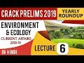 Environment and Ecology 2018-19 Current Affairs Set 6 for UPSC CSE Prelims 2019 हिंदी में