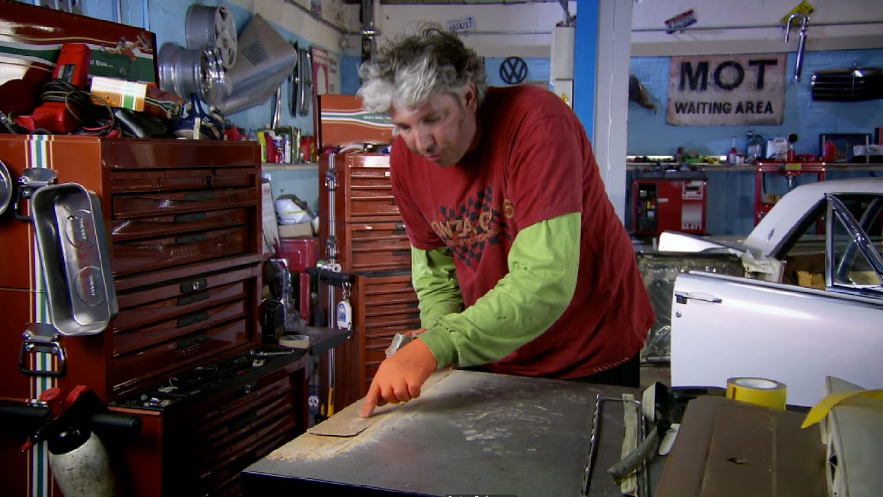 fixing the door card lincoln continental wheeler dealers youtube. Black Bedroom Furniture Sets. Home Design Ideas
