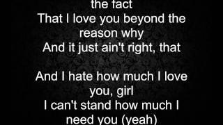Rihanna feat Ne-Yo - Hate that I love you with lyrics