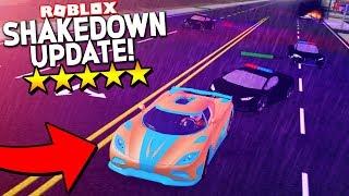 TORNANDO-se o criminoso mais procurado em simulador de veículos! (Atualização de Roblox shakedown)
