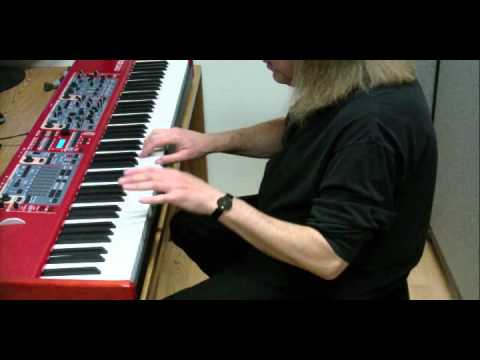 The Sound of Music - Piano Medley - Nord Stage 2 - Imperial Grand setting
