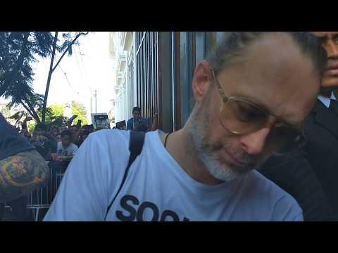 Thom Yorke En Lima