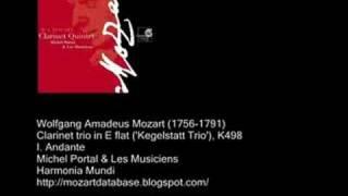 K498-1 Mozart Kegelstatt trio movt 1