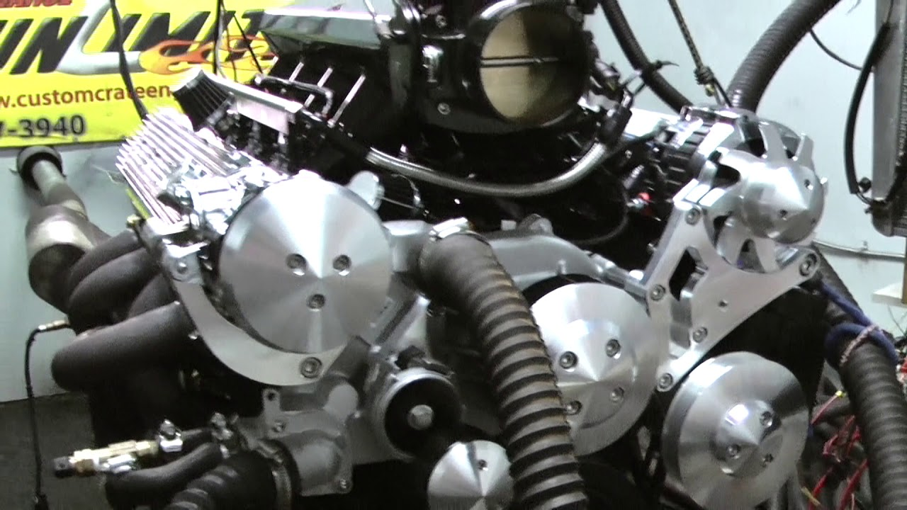 Chevy LS 327CI 5 3L Crate Engine With FiTech EFI