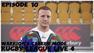 Rugby League Live 4   Warriors Career Mode Episode 10