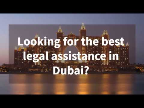 Legal assistance in Dubai