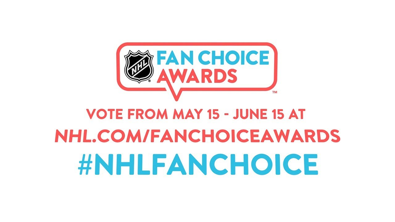 The NHL Fan Choice Awards: an analysis
