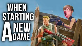 Fortnite Battle Royale: 20 Things To Know When Starting A New Game