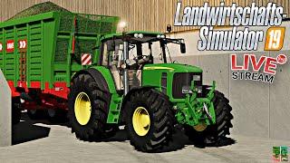 Ls19 Live🔴: Die Letzten Maisfelder   Inspektion Claas HÄcksler 🚜[pc]│landwirtschafts Simulator 19