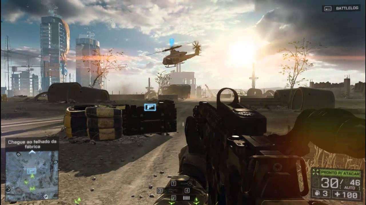 Intel HD Graphics 2000 Battlefield 4 - YouTube