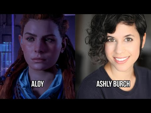 Characters and Voice Actors - Horizon Zero Dawn - YouTube