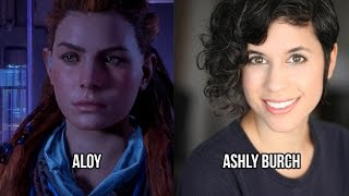 Characters And Voice Actors Horizon Zero Dawn