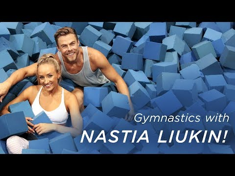 Derek Hough's Gymnastics with Nastia Liukin  Life in Motion