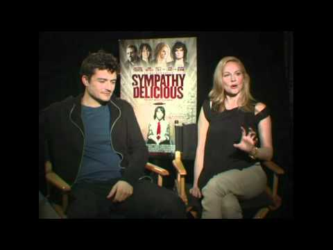 ORLANDO BLOOM & LAURA LINNEY SYMPATHY FOR DELICIOUS INTERVIEW