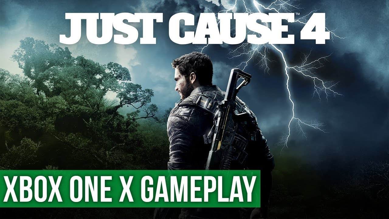 Just Cause 4 ▻ Xbox One X Gameplay / Preview - YouTube