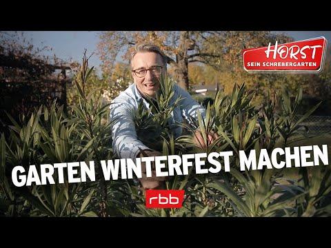 Garten winterfest machen | Horst sein Schrebergarten