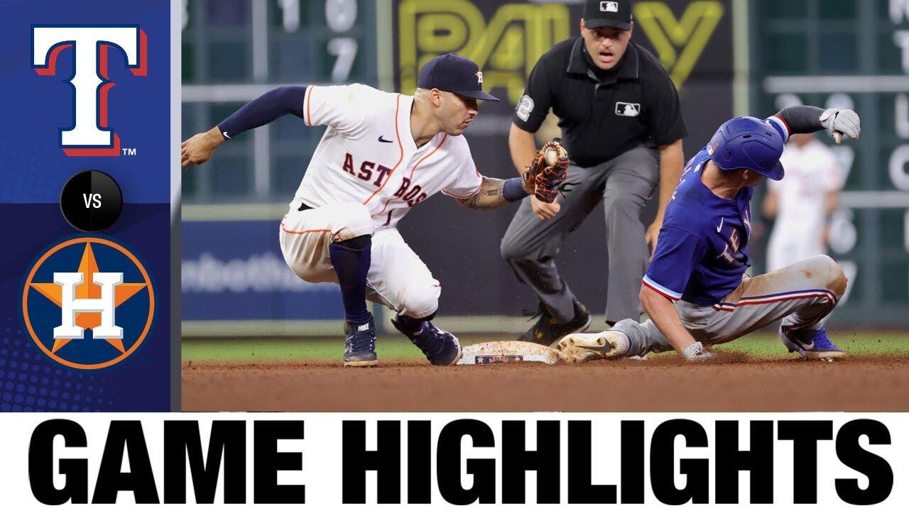 Rangers vs. Astros Game Highlights (6/15/21) | MLB Highlights