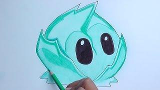 Dibujando a la Lechuga Iceberg (plantas vs zombies) - Drawing the Iceberg Lettuce
