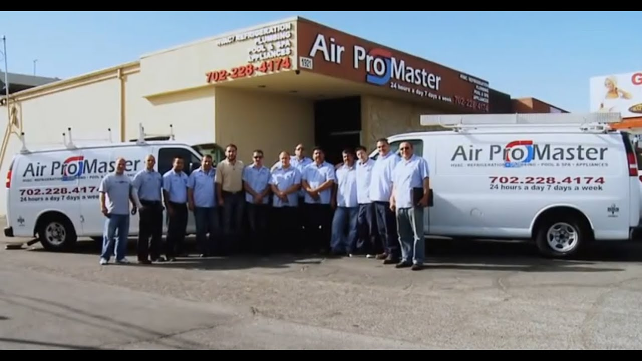 Las Vegas Air Conditioning Repair Service By Airpromaster