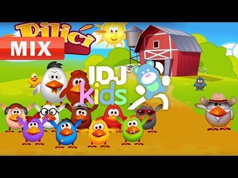 CHICKENS // BABY SONG // BEAUTIFUL KIDS SONGS // MIX // IDJKIDS (2017)