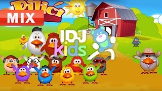 CHICKENS | BABY SONG | BEAUTIFUL KIDS SONGS | MIX | IDJKIDS (2017)