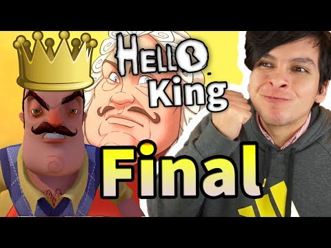 CONSEGUÍ EL PRIMER FINAL DEL HELLO NEIGHBOR MEDIEVAL !! | GOODBYE MY KING thumbnail
