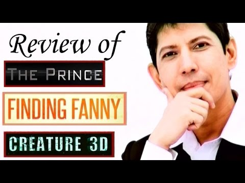 The zoOm Review Show - Finding Fanny, Creature 3D, The Prince -  Movie Review
