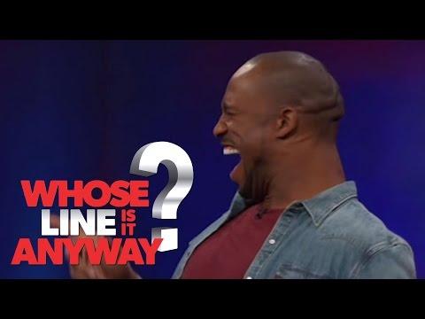 Vernon Davis VS Wayne Brady - Whose Line Is It Anyway? US