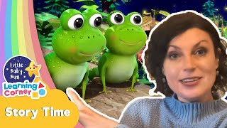 STORY TIME - Frogs Life Cycle  | Story Corner | Learning Videos For Kids | Homeschool Cartoons