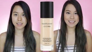 bareMinerals Bare Pro Liquid Foundation Review | Oily Skin | AlisonHa